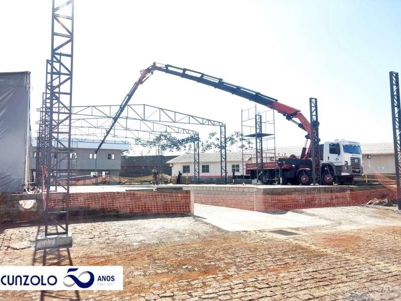 Içamento de Estruturas com Guindaste em Sumaré