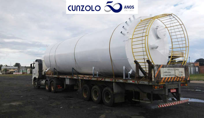Operação de transporte de carga de Ibaté para Várzea Paulista e posicionamento da peça com total sucesso e segurança.